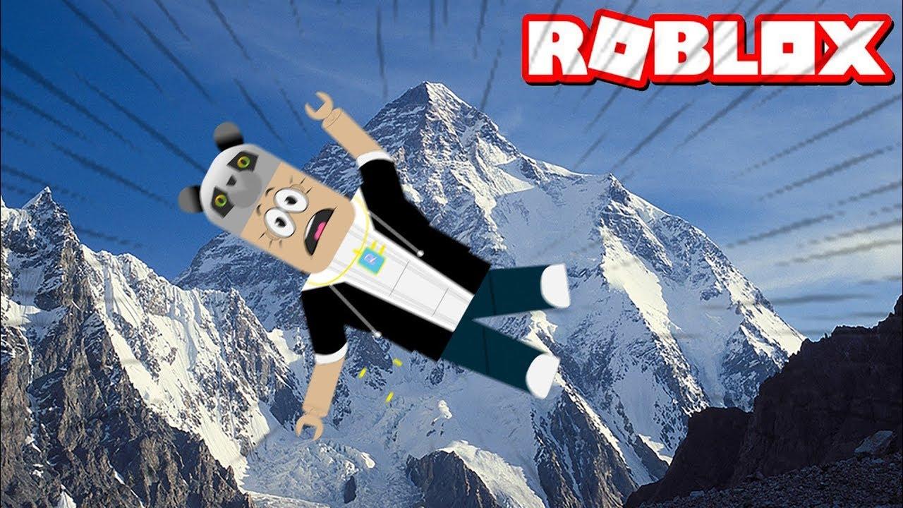 9999 Yüksek Yerden Hızla Düşmek! - Panda ile Roblox Broken Bones Ultimate