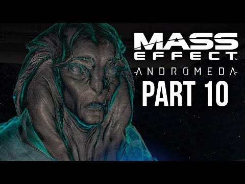 MASS EFFECT ANDROMEDA Walkthrough Part 10 - KETT BASE (Female) Full Game