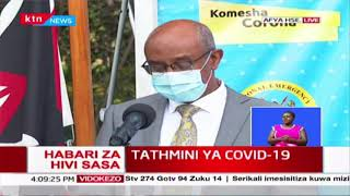 COVID-19 UPDATES in Kenya, Ministry of Health briefing | Full Video