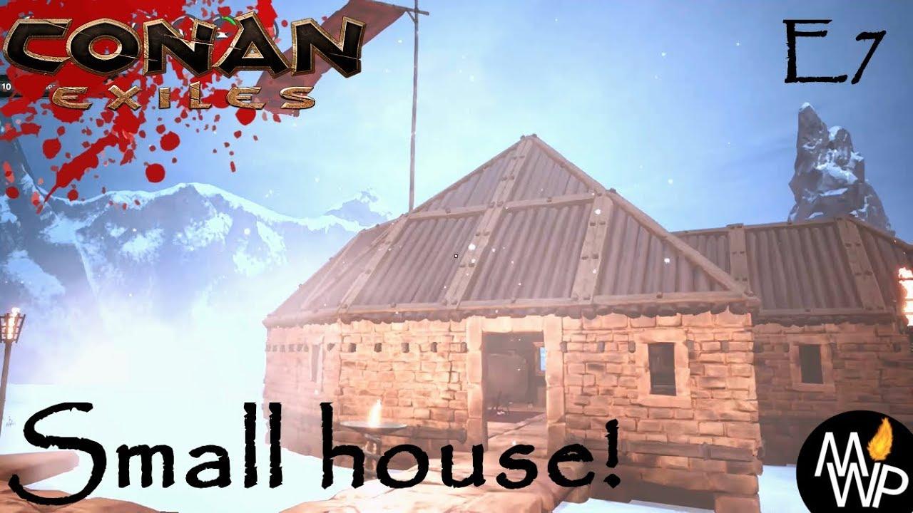Conan Exiles Lets Play Xbox S3 E7 Small House Youtube