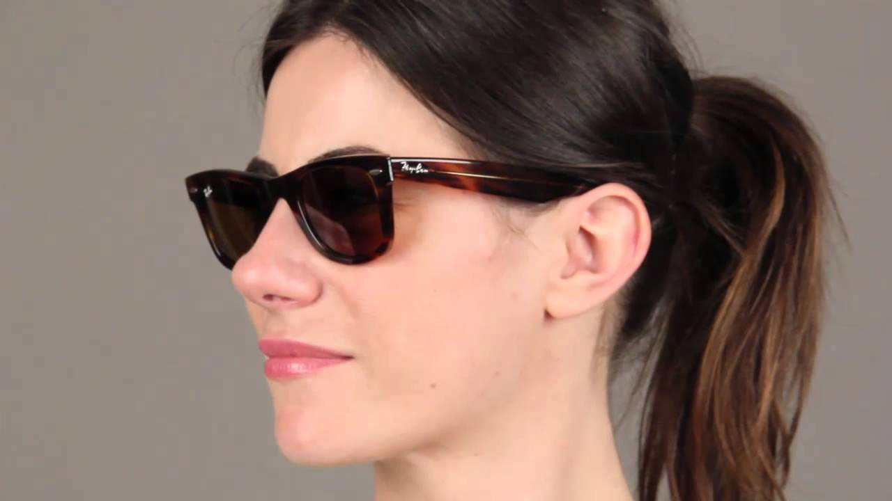 2e180c0370bee Ray-Ban RB2140 Original Wayfarer Sunglasses Review - YouTube