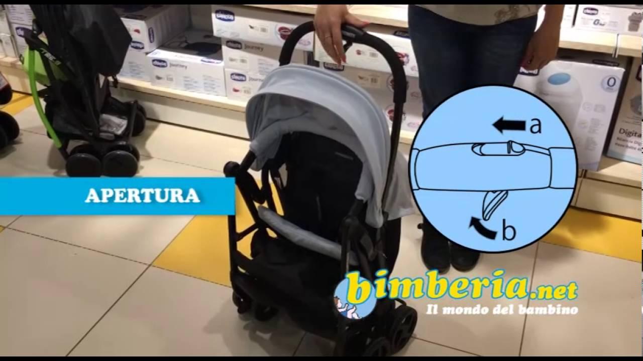 Passeggino foppapedretti Piuleggero bimberia.net - YouTube 032863b1aa2