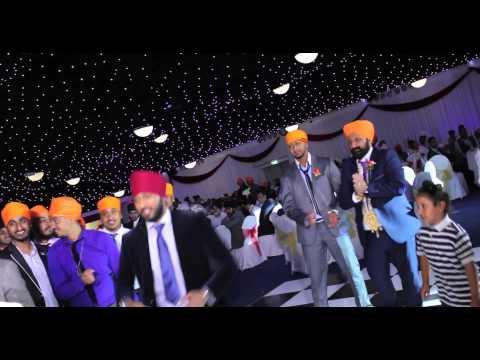 Asian Wedding Video| Aman Hayer- The Entourage Live Performance|Highlights
