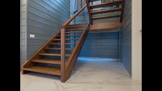 Изготовление лестниц из массива ореха своими руками.Обзор