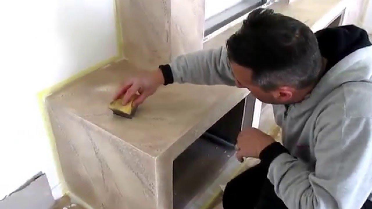 decorazione effetto pietra su cartongesso - YouTube
