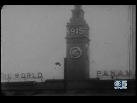 Panama Pacific Expo World's Fair in San Francisco 1915 - rare narrated nitrate films
