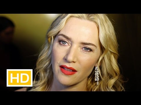 Kate Winslet interview on Oscar nomination, DiCaprio, Fassbender at UK Critics