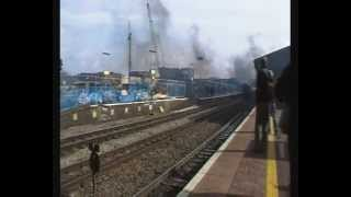 Steam @ Reading. King Edward 1 6024. The Bristolian 3/3/12