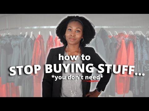 How to *STOP* Buying Things That You Don't Need⎟FRUGAL LIVING TIPS ⎟How to Save Money Faster