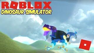 Roblox Dinosaur Simulator - New Update Info! + Playing As Gal Baro!