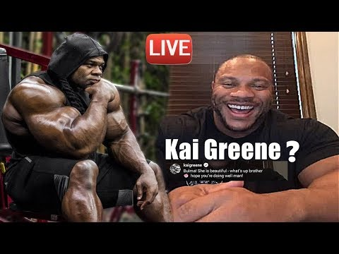 Phil Heath Shout Out to Kai Greene & Asking for Shout Out
