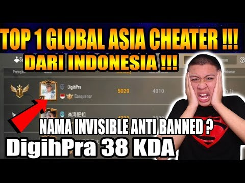 download TOP GLOBAL 1 PUBGM ASIA CHEATER DARI INDONESIA !!! - PUBG MOBILE