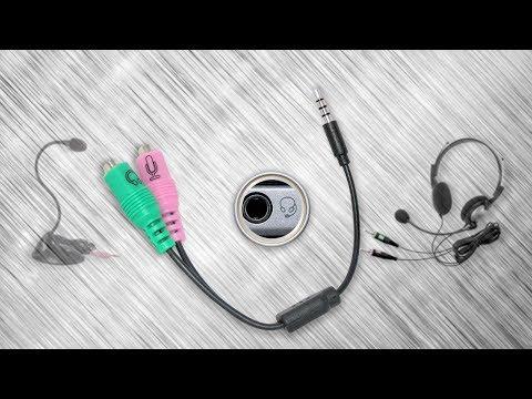 Как подключить микрофон и наушники в один разъем