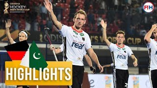 Germany v Pakistan | Odisha Men's Hockey World Cup Bhubaneswar 2018 | HIGHLIGHTS