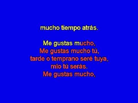 Me gustas mucho - Rocío Dúrcal (karaoke)