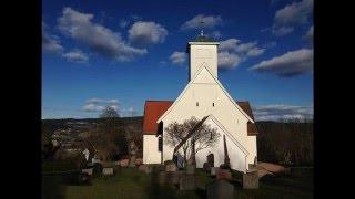 Frogner kirke og kirkegård i Lier