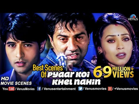 Best Scenes Of Pyaar Koi Khel Nahin | Sunny Deol Movies | Best Bollywood Action Scenes