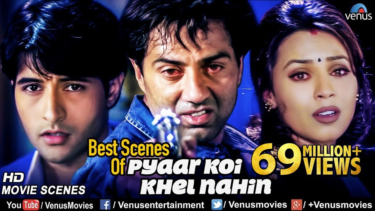 Best Scenes Of Pyaar Koi Khel Nahin Sunny Deol Movies Best Bollywood Action Scenes