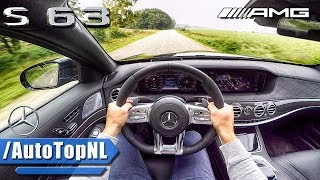 2018 Mercedes AMG S63 4Matic+ 612HP POV Test Drive by AutoTopNL