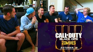 Z HOUSE REACTS TO BLOOD OF THE DEAD TRAILER (Black Ops 4 Zombies) (Feat.NoahJ456 & JCbackfire)