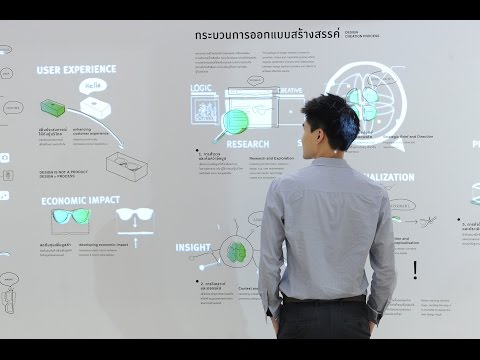Design Service Society : Interactive Design Story in Thailand