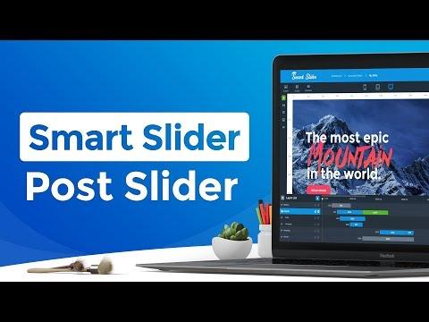 Descargar Video Smart Slider 3 - WordPress Post Slider - Dynamic Slide Generator