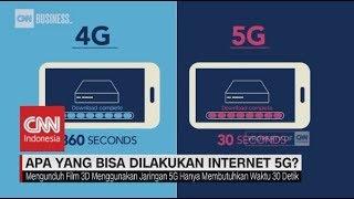 Apa yang Bisa Dilakukan Internet 5G?