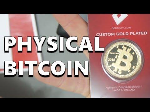 Denarium Physical Bitcoin - A Fantastic Cryptocurrency Gift