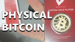 Denarium Physical Bitcoin - A Fantastic Cryptocurrency Gift