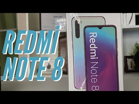 Xiaomi Redmi Note 8 kutu açılımı 4/64 modeli beyaz