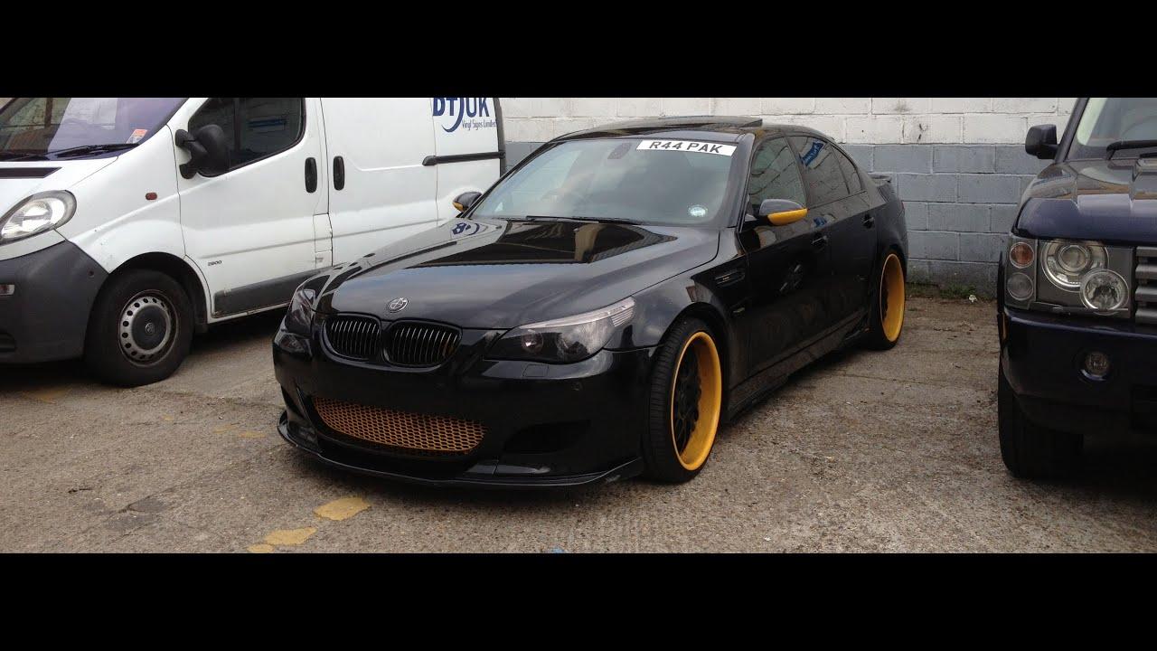 BMW 545i E60 420bhp Hamman - YouTube