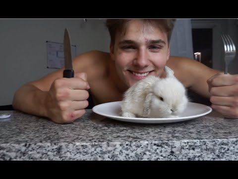Thumbnail: EATING OUR FIRST BUNNY!!