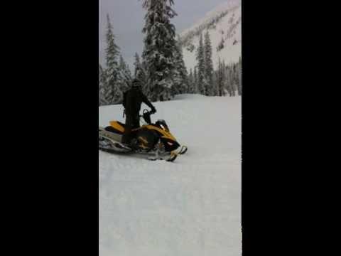 Snowmobiling at Jewel Basin Bigfork Montana