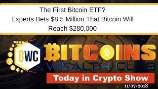 The First Bitcoin ETF Coming Soon? Bet To Bitcoin Reach $280,000..