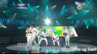 [live  Hd 中字]110225 - Dalmatian - The Man Opposed - Music Bank