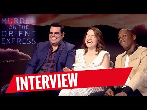 MORD IM ORIENT-EXPRESS   Interview mit Josh Gad, Daisy Ridley & Leslie Odom Jr.