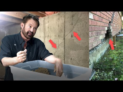 Foundation failure due to incorrect egress window installation - finishing a basement (part 1)