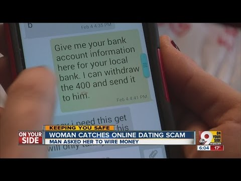 Woman Catches Online Dating Scam