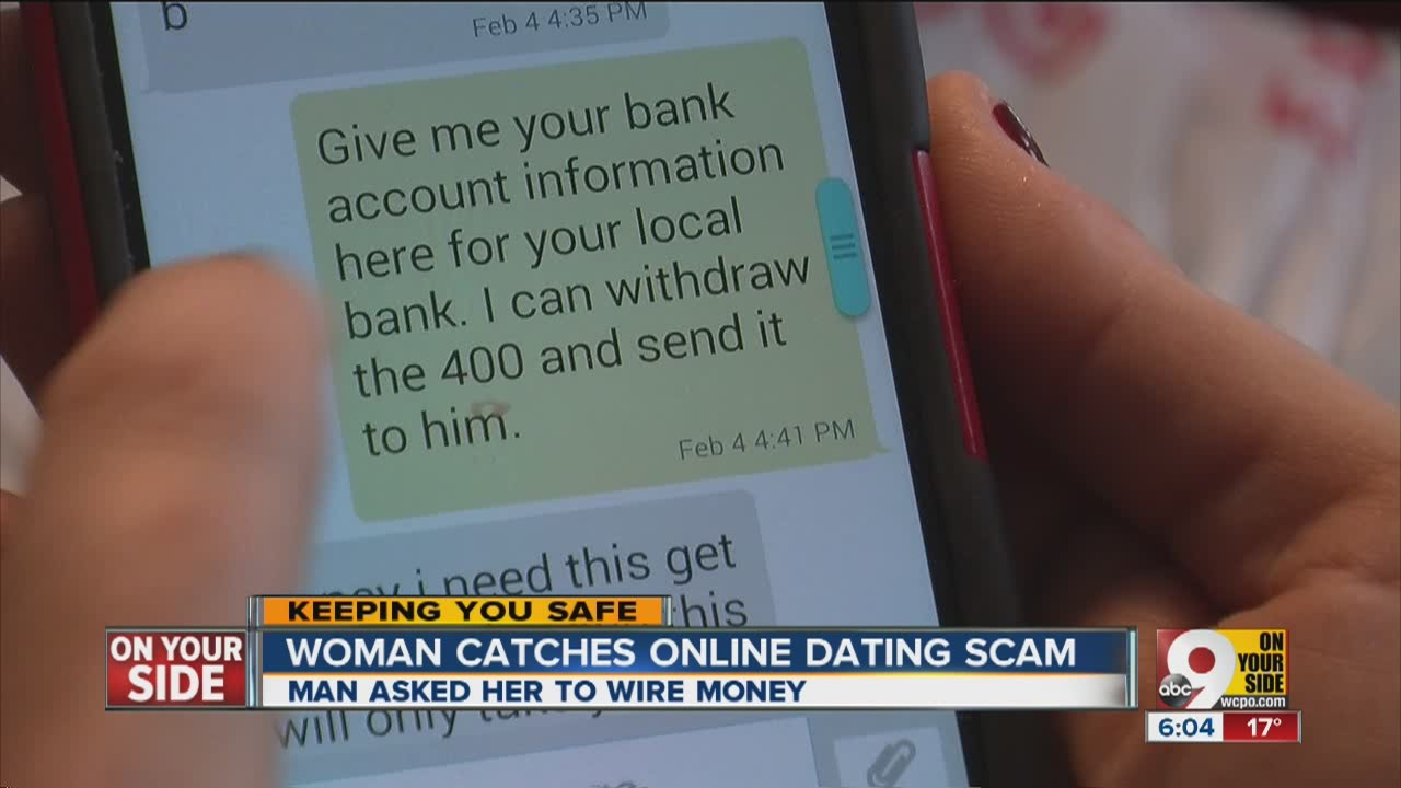 Online dating cell phone scams