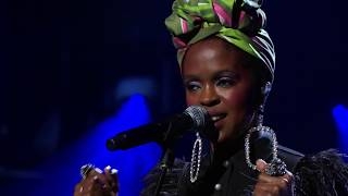 Lauryn Hill performs Feeling Good at the 2018 Rock & Roll Hall of Fame Induction Ceremony