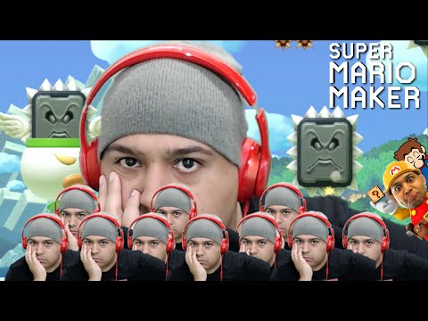 SERIOUSLY, F#%K ALL THIS!! [SUPER MARIO MAKER] [#57]