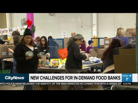 Need Grows As Food Banks Face New Challenges