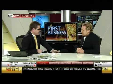 Jeremy Liddle on Sky News Business 16th May 2012