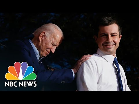 Joe Biden Thanks Pete Buttigieg For Endorsement: 'He Reminds Me Of My Son Beau' | NBC News