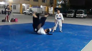 Các thế vật và tước vũ khí của đối phương🤼♂️.AikiDo🤼  Martial arts AIKIDO performed .. 🤼♂️