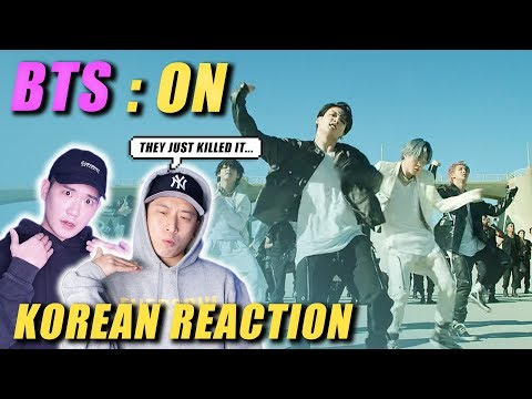 🔥(ENG) KOREAN Rappers React To BTS (방탄소년단) 'ON' Kinetic Manifesto Film : Come Prima