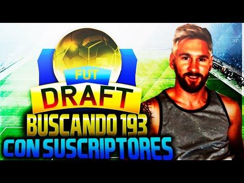 FUT DRAFT + Preguntas BUSCANDO 193 FIFA 16 Ultimate Team