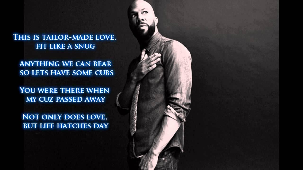 Common - The Believer ft. John Legend ( Lyrics ) - YouTube