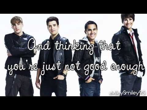 Big Time Rush - Cover Girl (with lyrics)