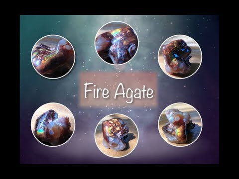 Fire Agate Lets Talk Stones